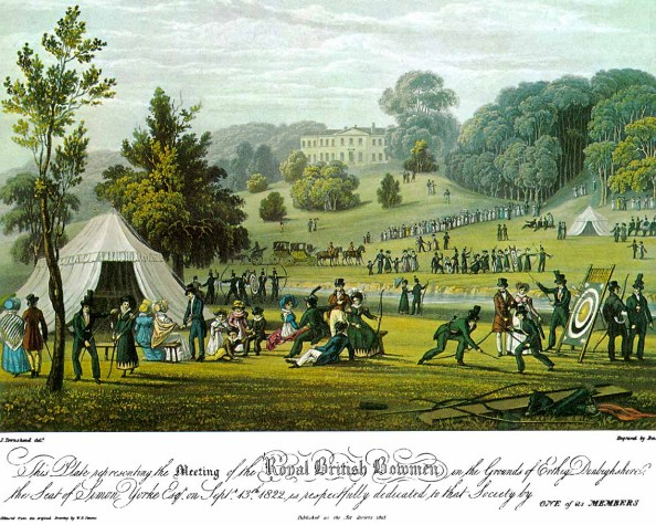 Royal British Bowmen, 1823